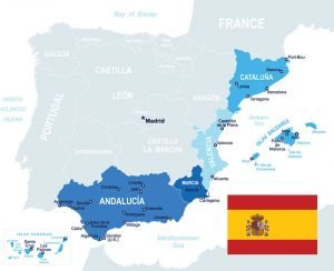 Spain Service Coverage Area