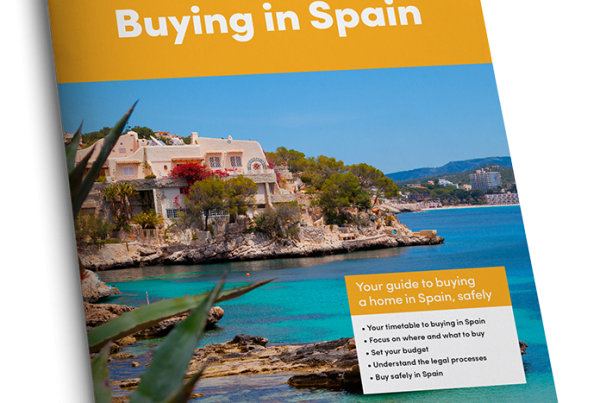 Cover of Buying in Spain magazine
