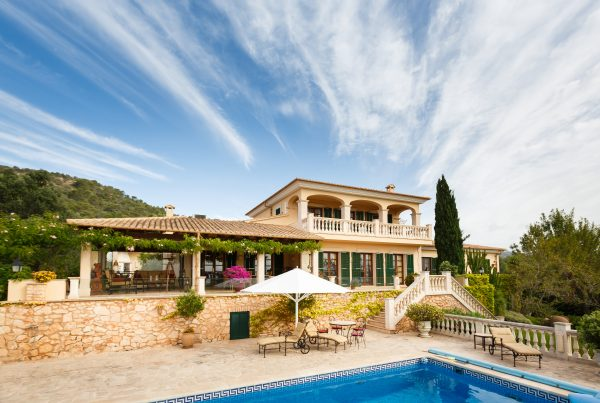 Spanish real estate of Mediterranean seashore, Mallorca