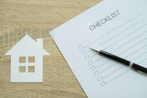 House inspection checklist