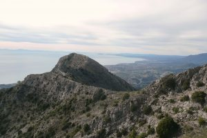 Summit of La Concha, Marbella with Gibraltar and Morocco in the Background