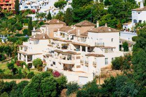 Benahavis In Malaga, Andalusia, Spain. Summer, Village